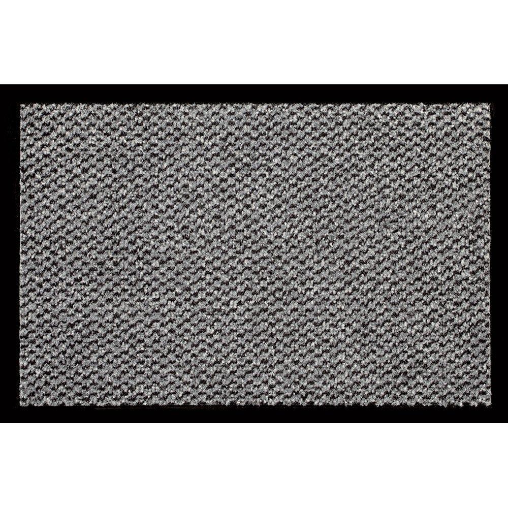 Tapis d'accueil gris 60x80cm