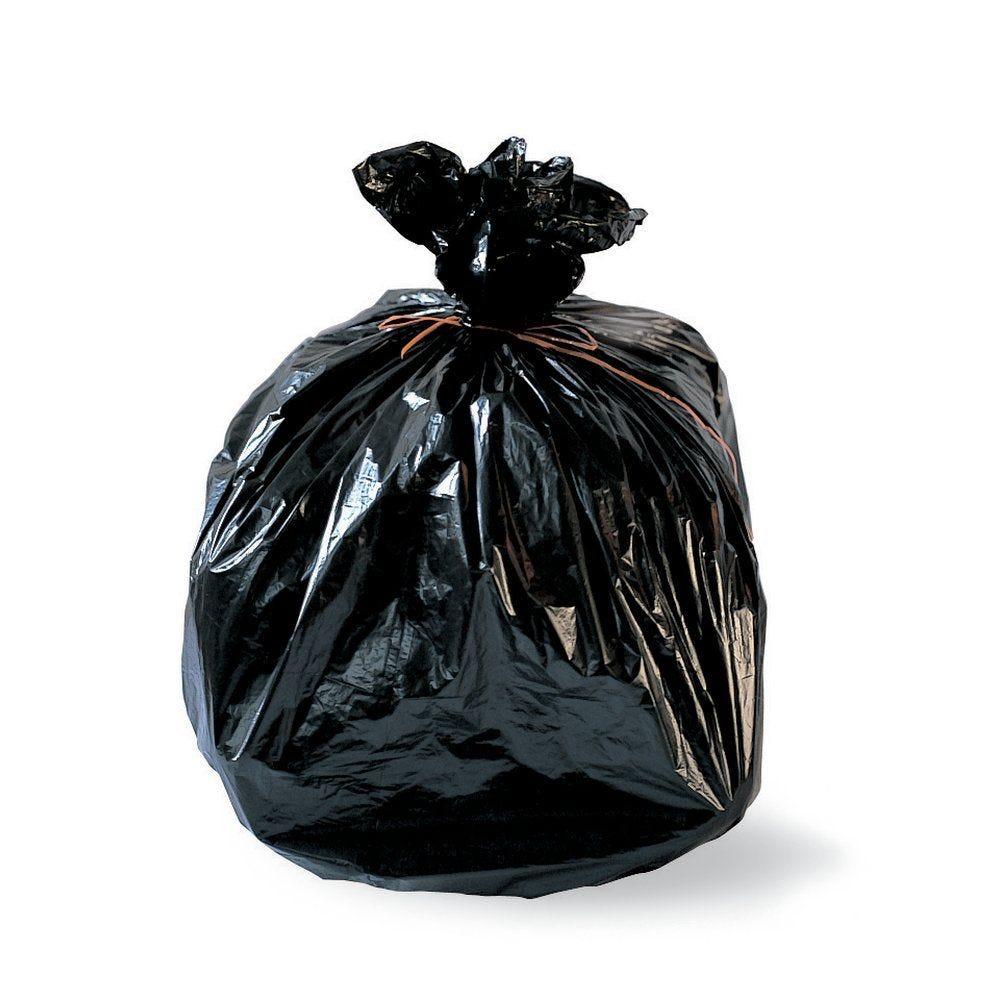 Sacs poubelle 110L PEHD 18µ 70x105cm par 25 (photo)