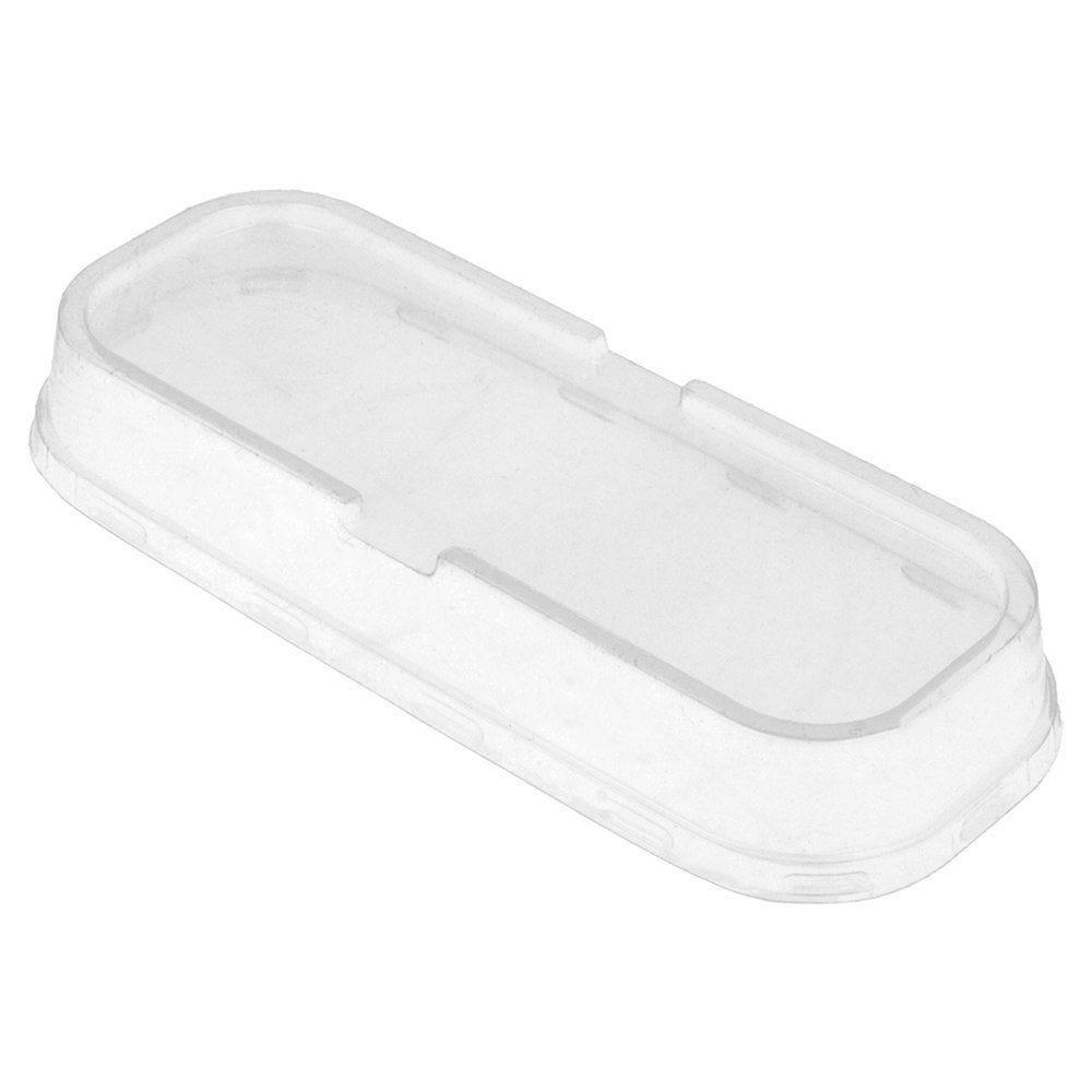 Couvercle haut PET transparent pour contenant aluminium 200ml - par 100