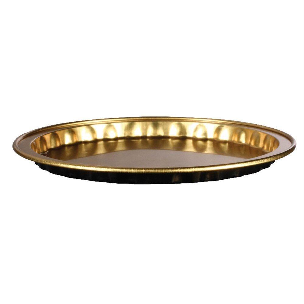 Moule tartelette aluminium or/noir 20ml Ø8x0,6cm - par 100