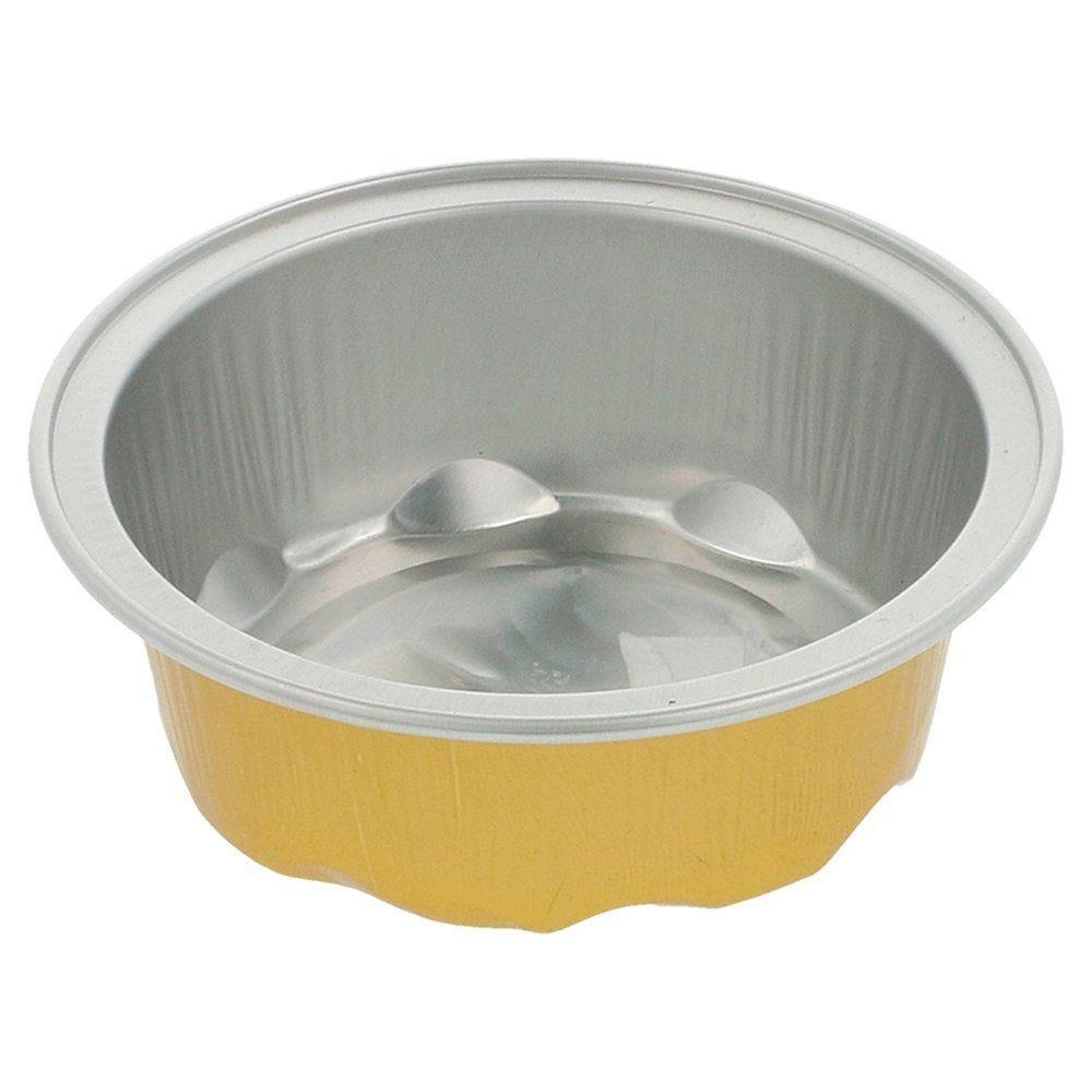Moule tartelette aluminium or/argent 50ml Ø7,1x2,5cm - par 100