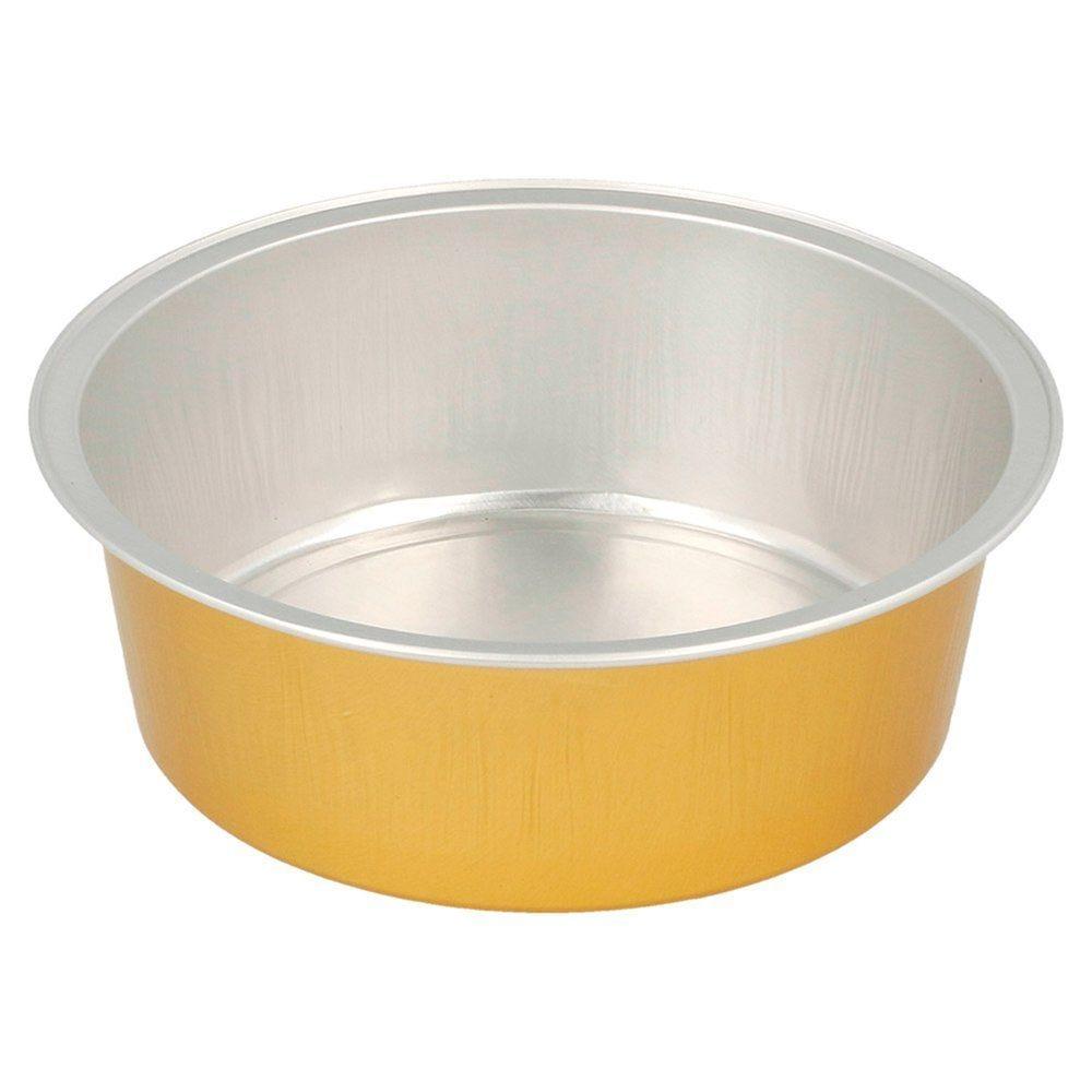 Moule tartelette aluminium argent/or 150ml Ø9,3x3,3cm - par 100