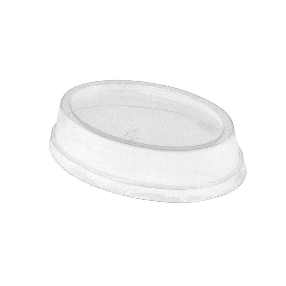 Couvercle haut PET transparent pour contenant 32738 et 32750 - par 100