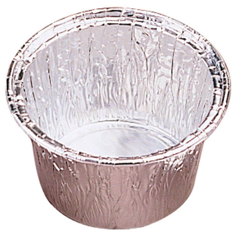 Moule tartelette aluminium 85ml Ø7/6,1x3,8cm - par 100