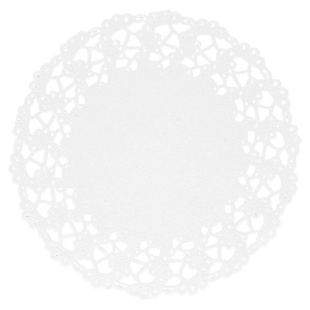 Dentelle papier blanc Ø11,5cm - par 250