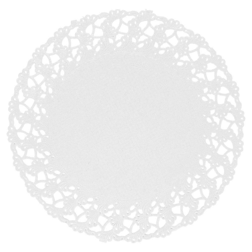 Dentelle papier blanc Ø14cm - par 250