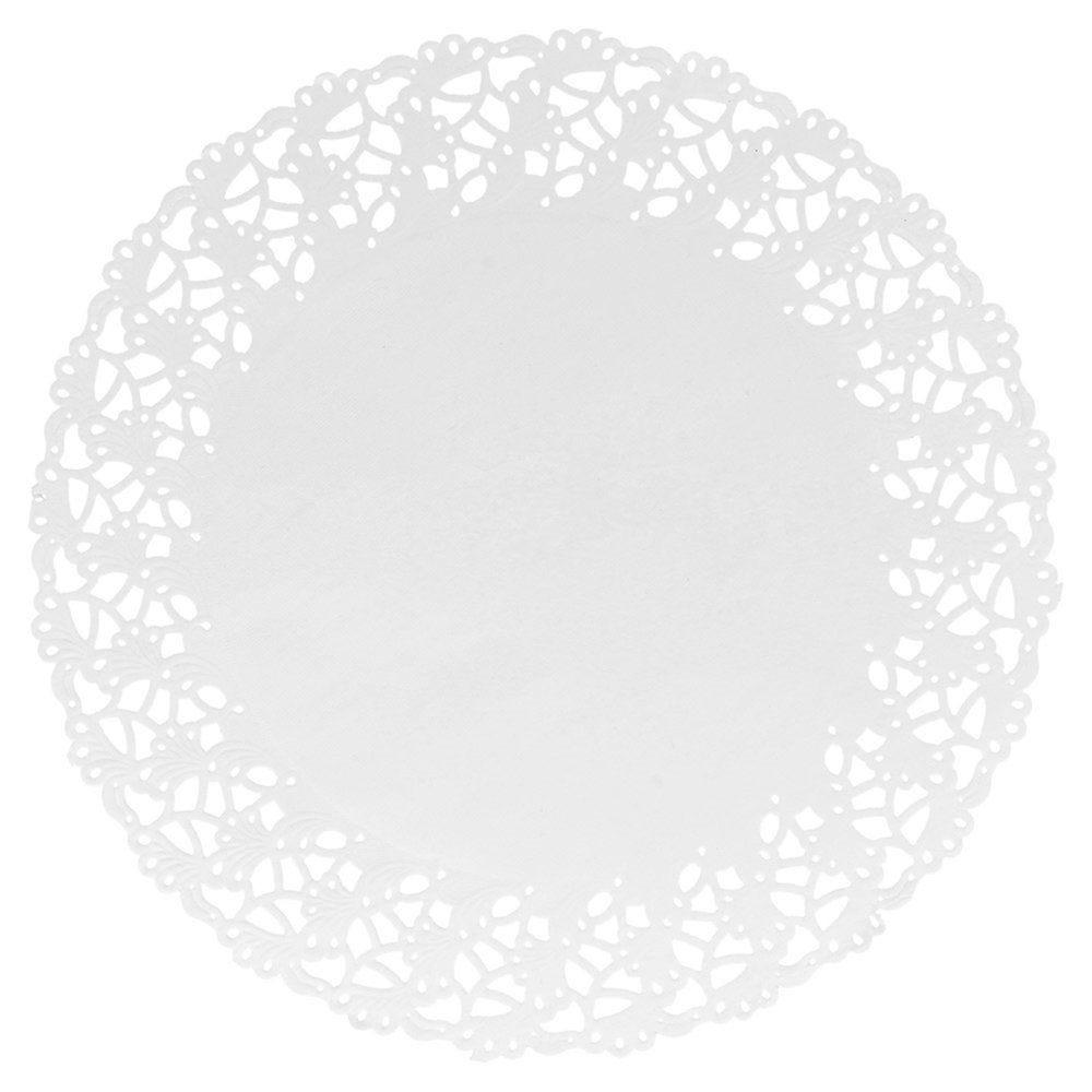 Dentelle papier blanc Ø27cm - par 250