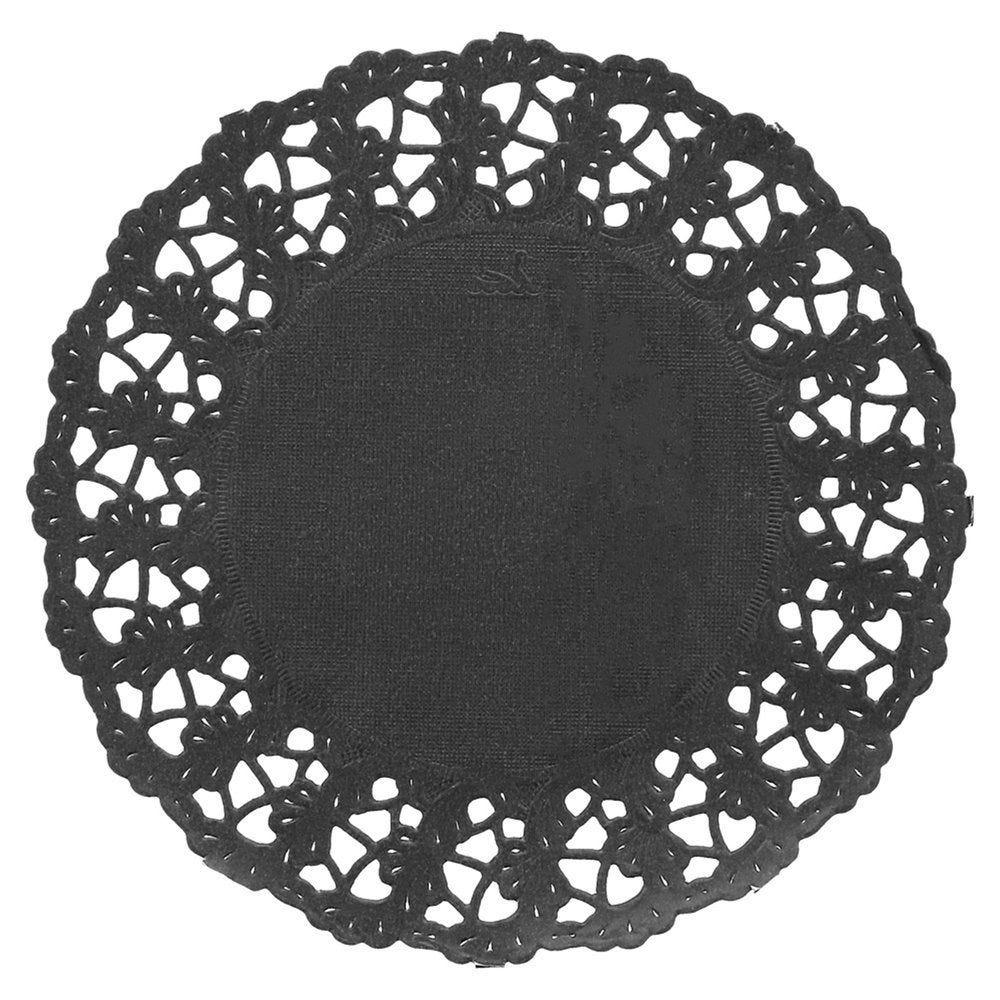 Dentelle papier noir Ø11,5cm - par 250