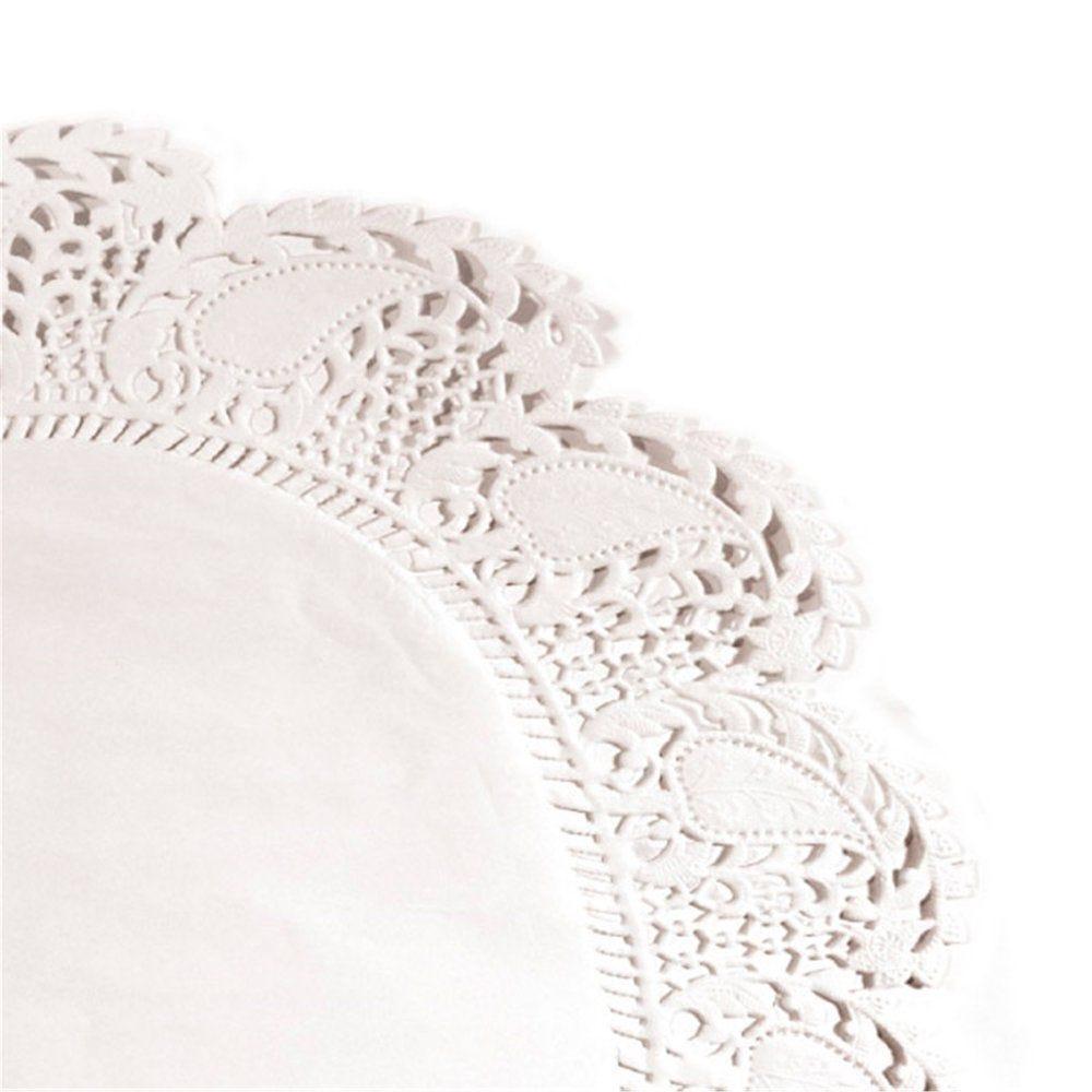 Dentelle papier blanc ingraissable Ø27cm - par 250