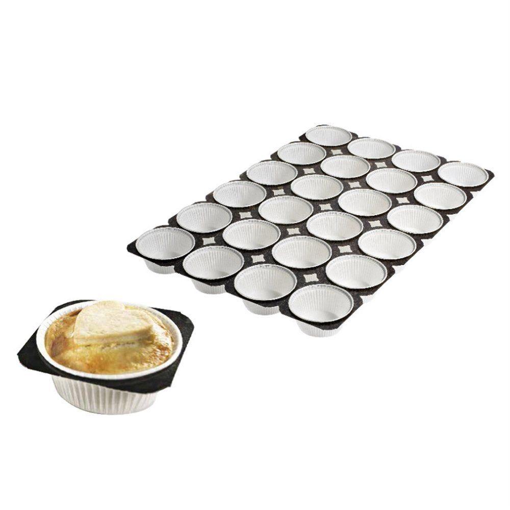 Plateaux 24 muffins en carton 33,6x50,4cm - par 125