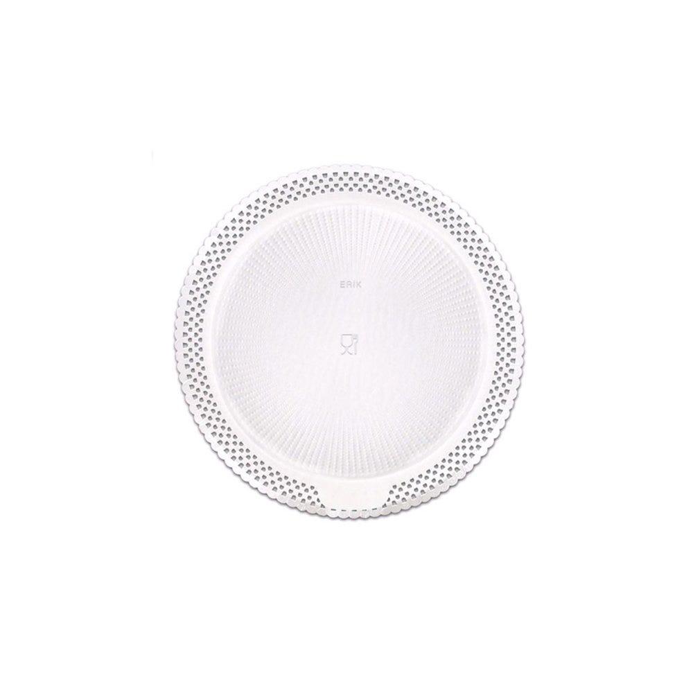 Support gâteau carton dentelé blanc Ø23cm - par 100
