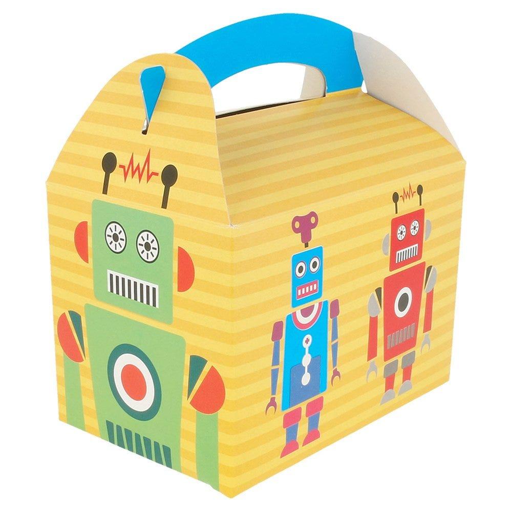 Boîte menu enfant carton Robot 17x16x10cm - par 300