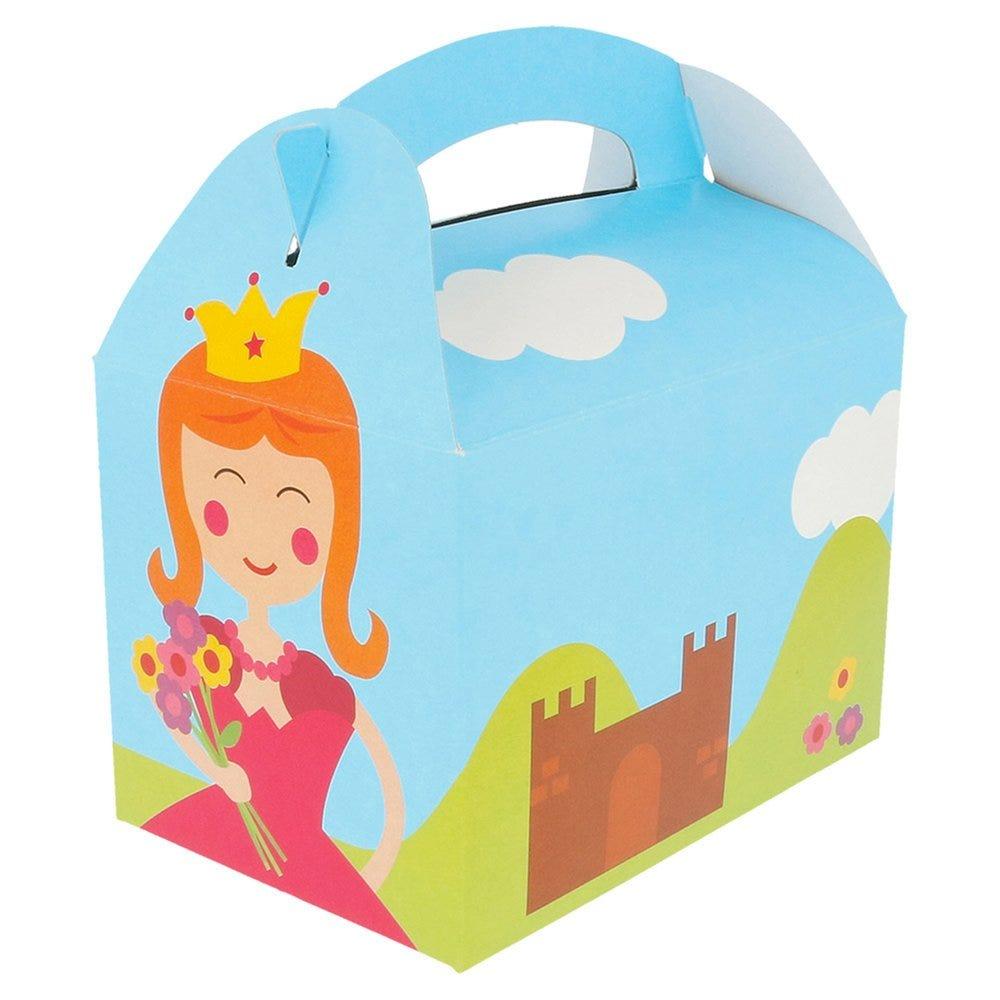Boîte menu enfant carton Château 17x16x10cm - par 300