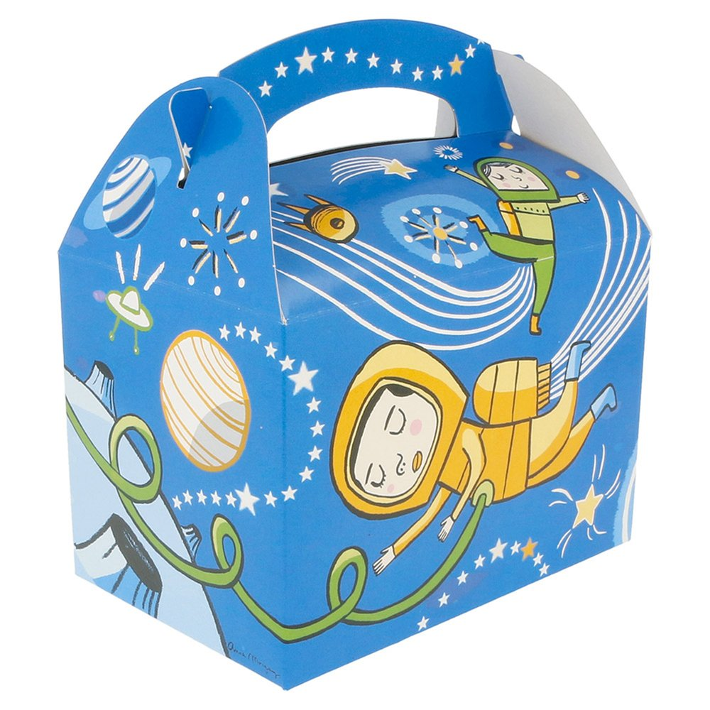 Boîte menu enfant carton Espace 17x16x10cm - par 300