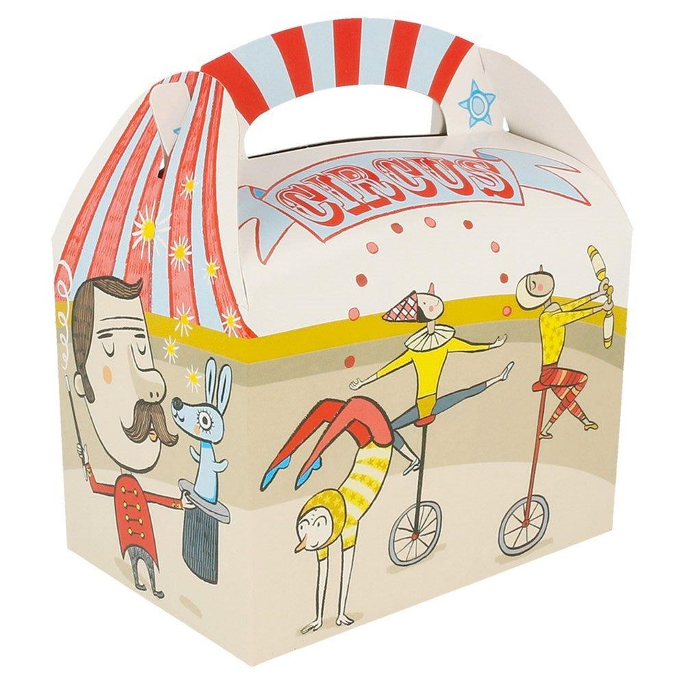 Boîte menu enfant carton Circus 17x16x10cm - par 300