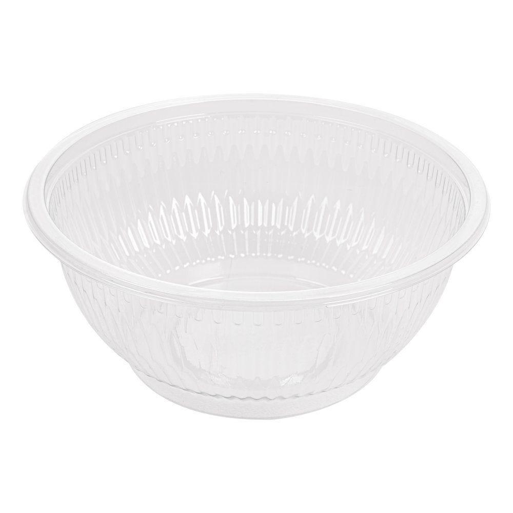 Saladier transparent PET 1000cc Ø18cm - par 300