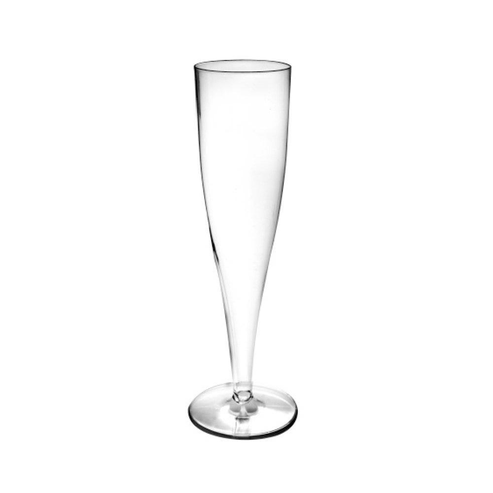 Flûte champagne PS cristal transparent 12,5cl Ø4,9x20cm - par 100