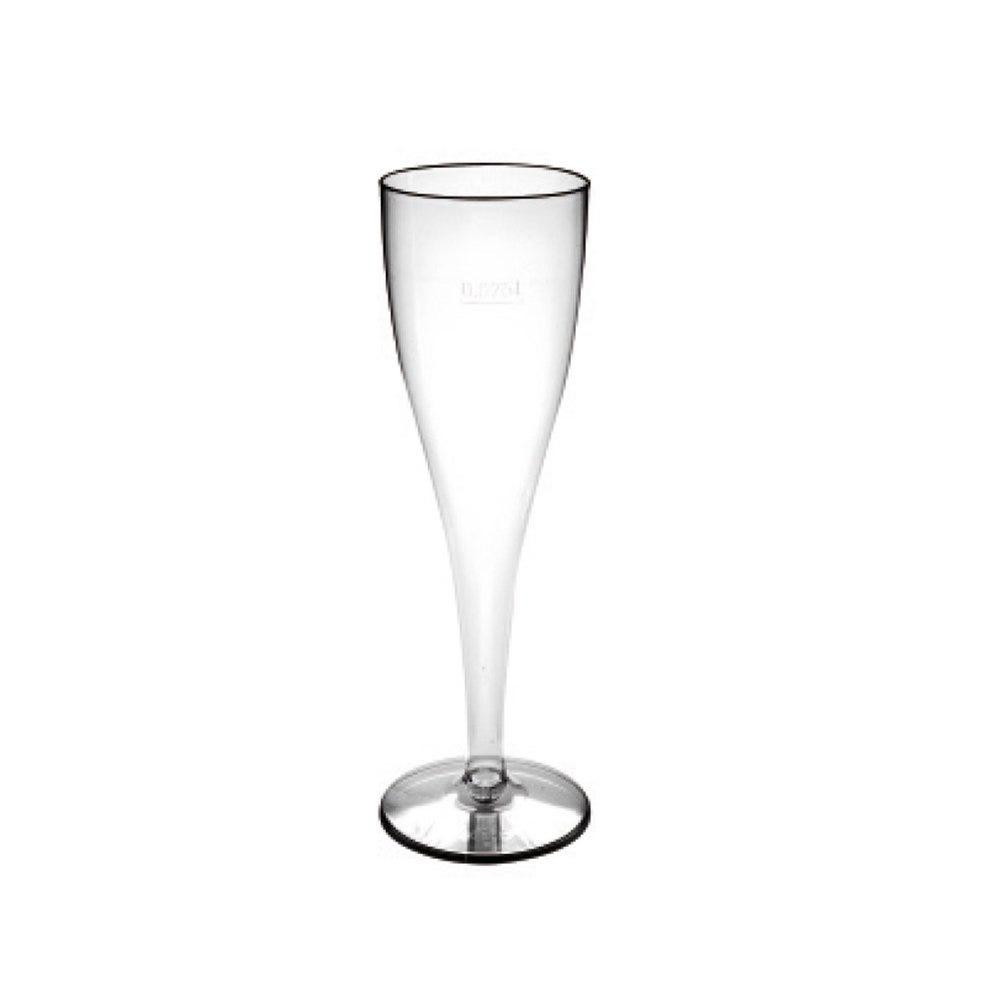 Flûte champagne PS cristal transparent 10cl Ø4,9x20cm - par 180