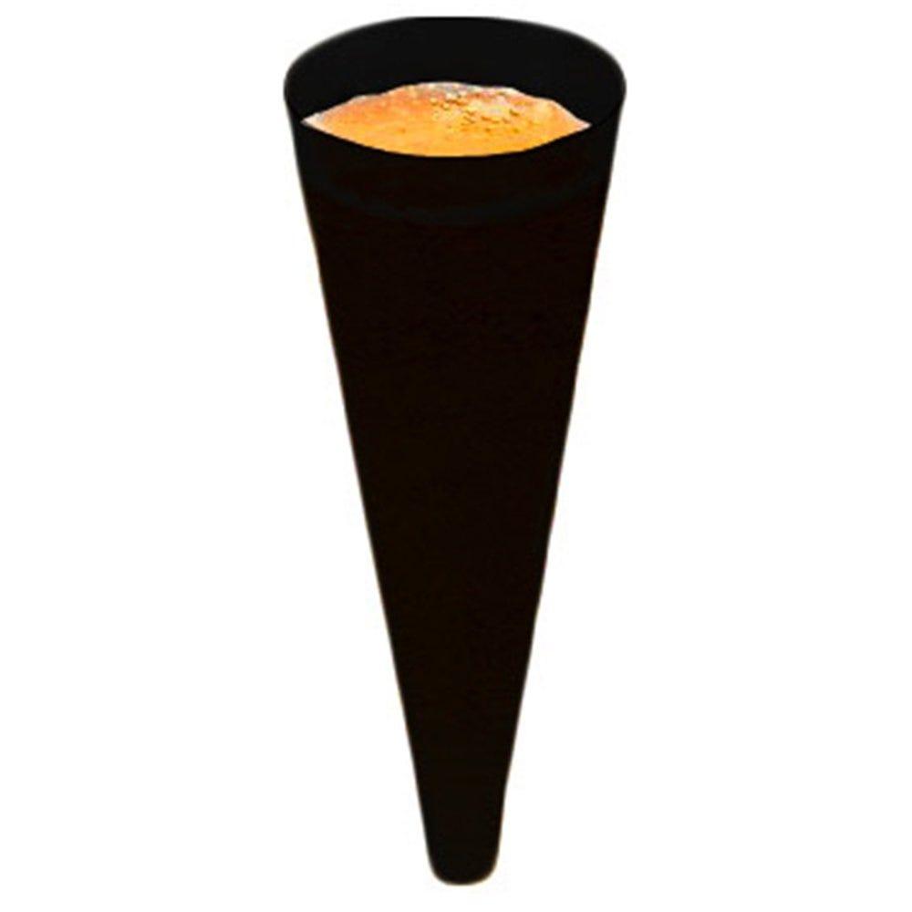Cône champagne PS noir Ø5x14cm - par 576