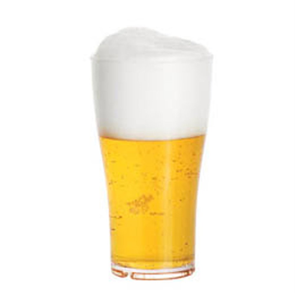 Verre à bière réutilisable polycarbonate 57cl Ø8,8x15,7cm - par 16