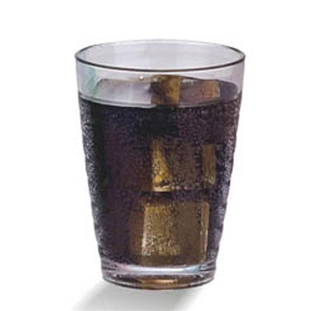 Gobelet strié réutilisable polycarbonate transparent 38cl Ø8x12,8cm - par 72