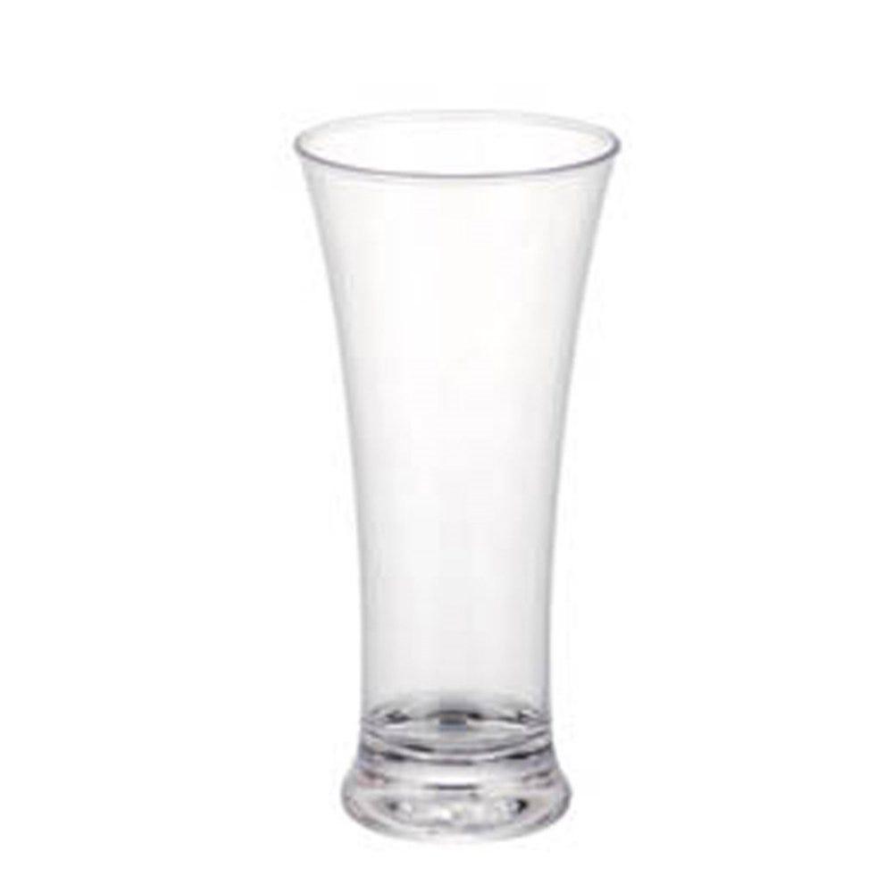Verre à bière réutilisable polycarbonate transparent 31cl Ø7,9x18cm - par 72