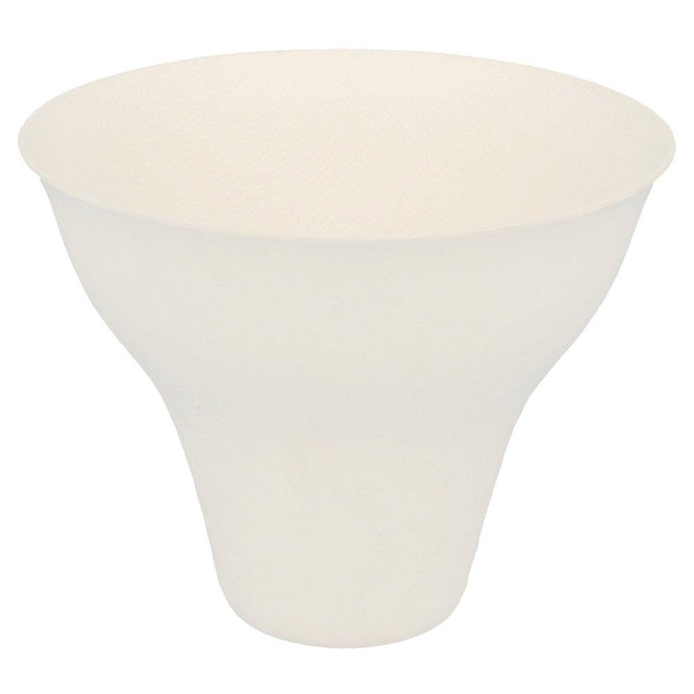 Gobelet bagasse blanche 26cl Ø9,9x8cm - par 200