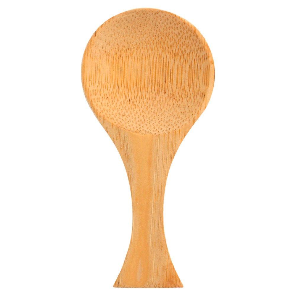 Mini cuillère large en bambou 9cm - par 50