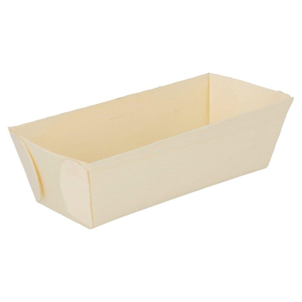 Barquette bois 10x4,5x3cm - par 500