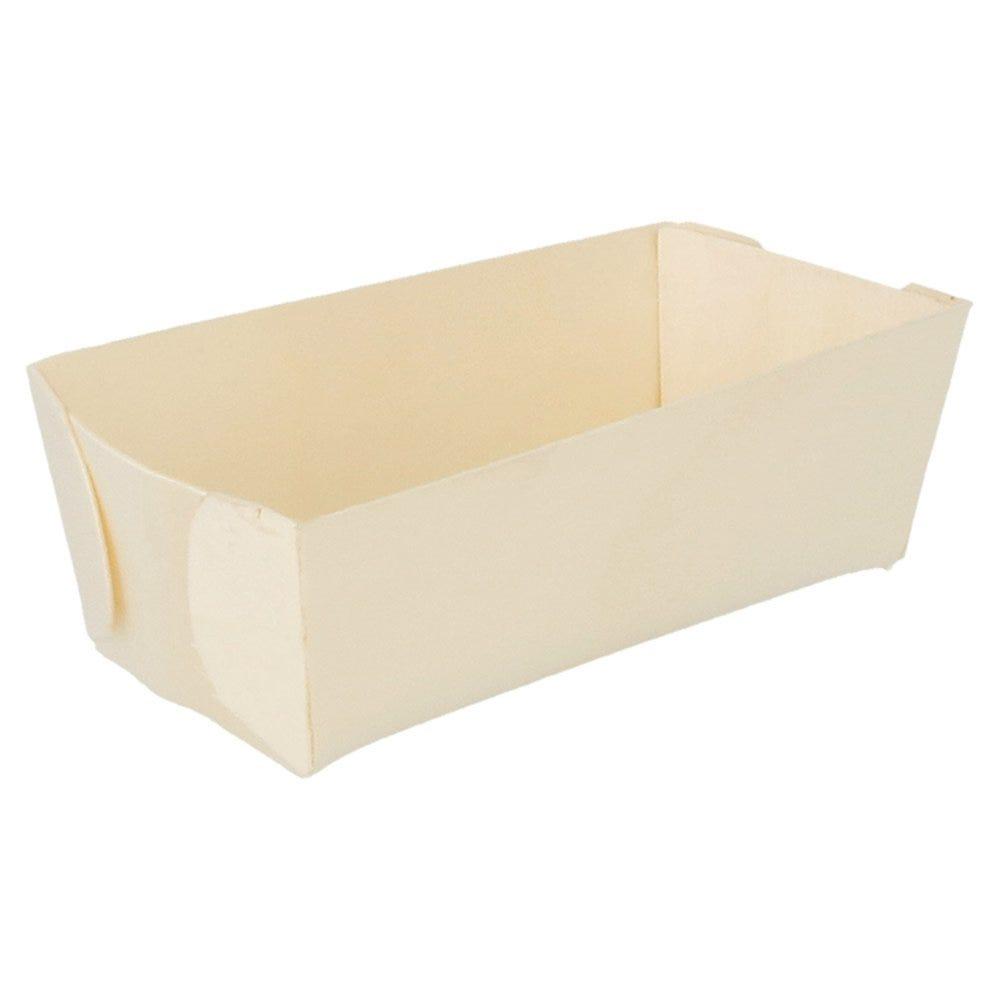 Barquette bois 12x6,2x4cm - par 500