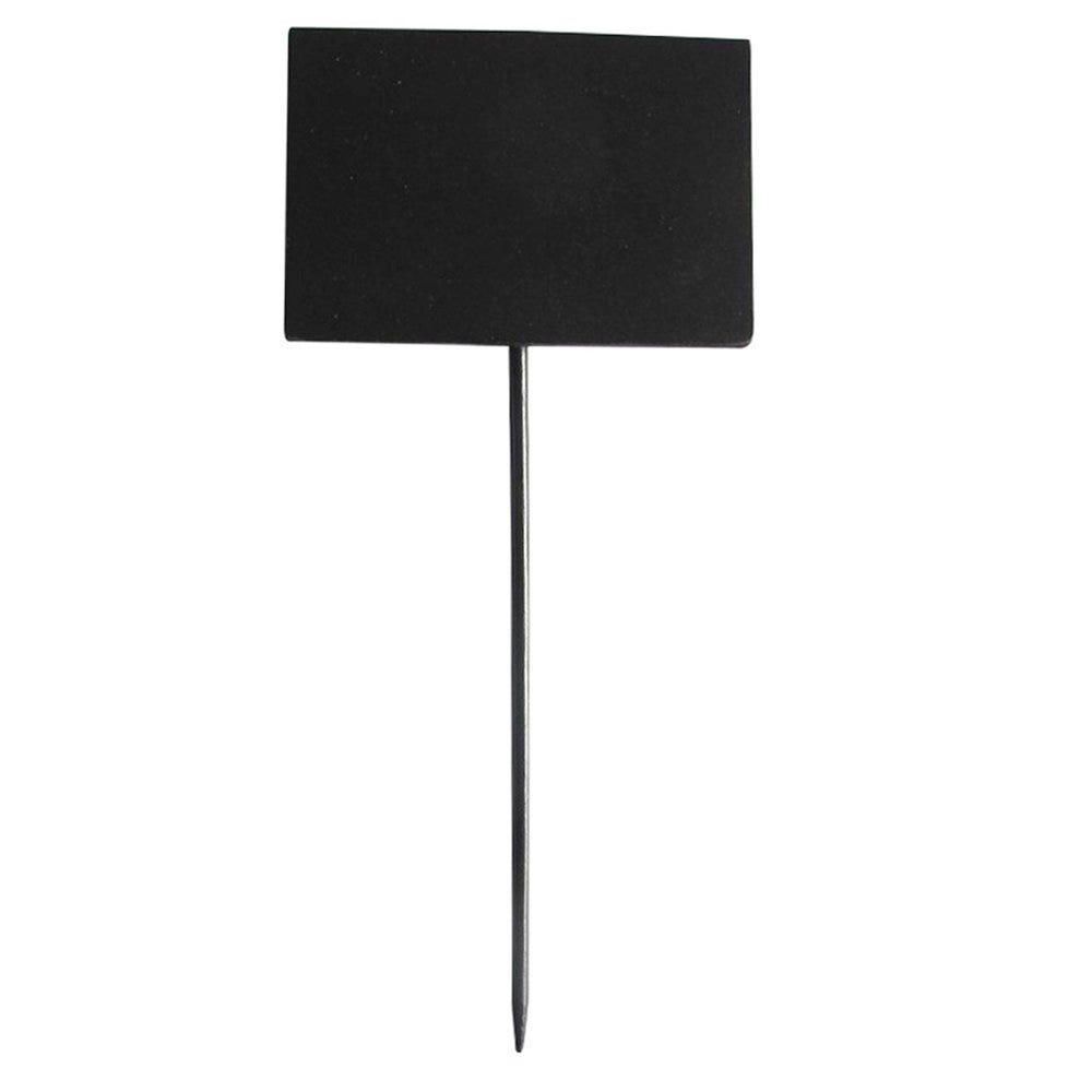 Pique ardoise noir bambou 8x5,4x18cm - par 5
