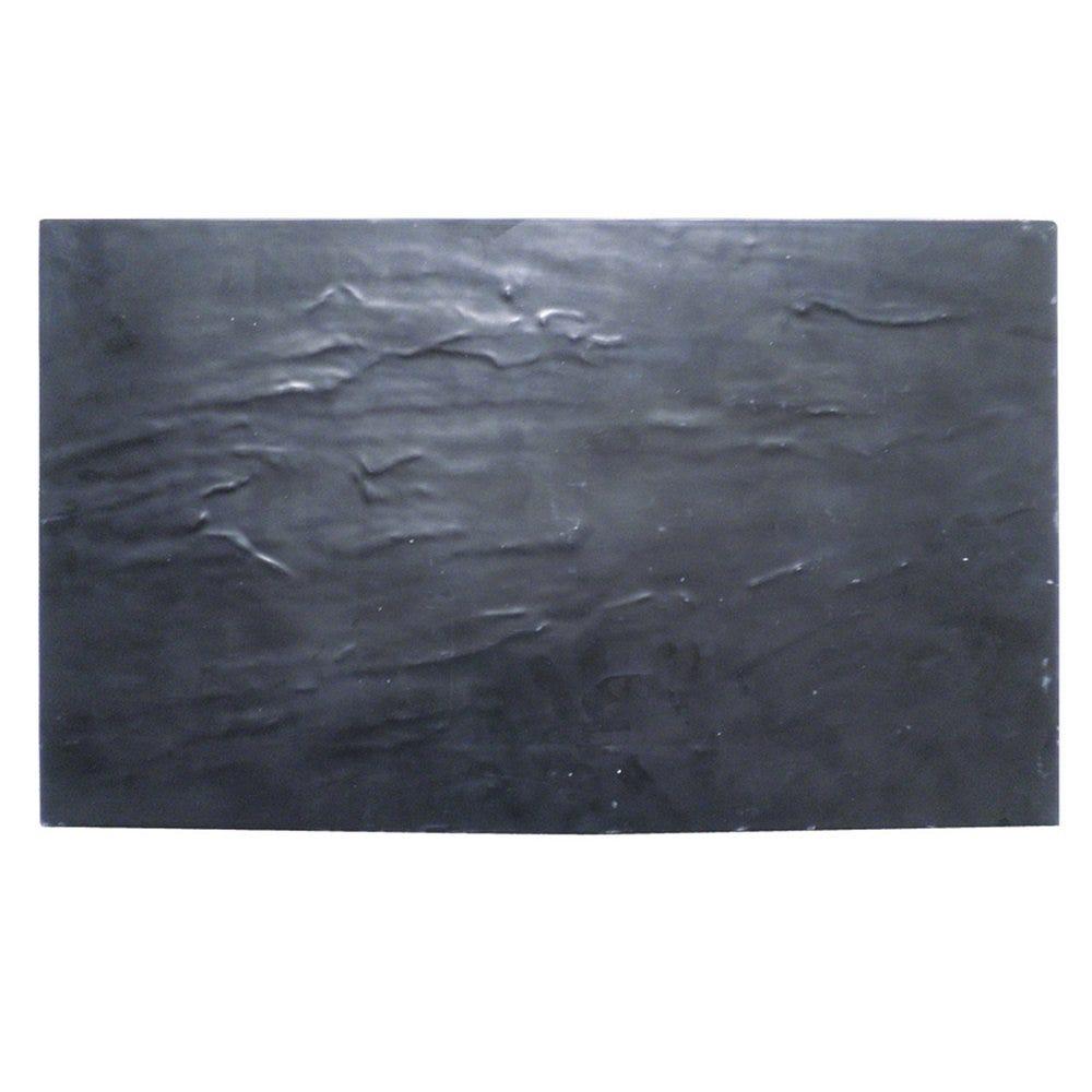Plateau imitation ardoise mélamine 32,5x17,5cm - par 5