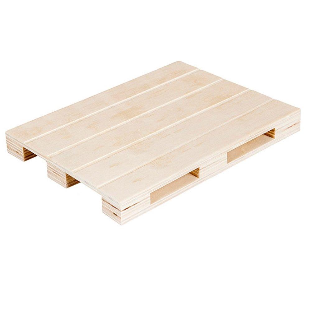 Mini palette bois 30x20x2cm - par 20