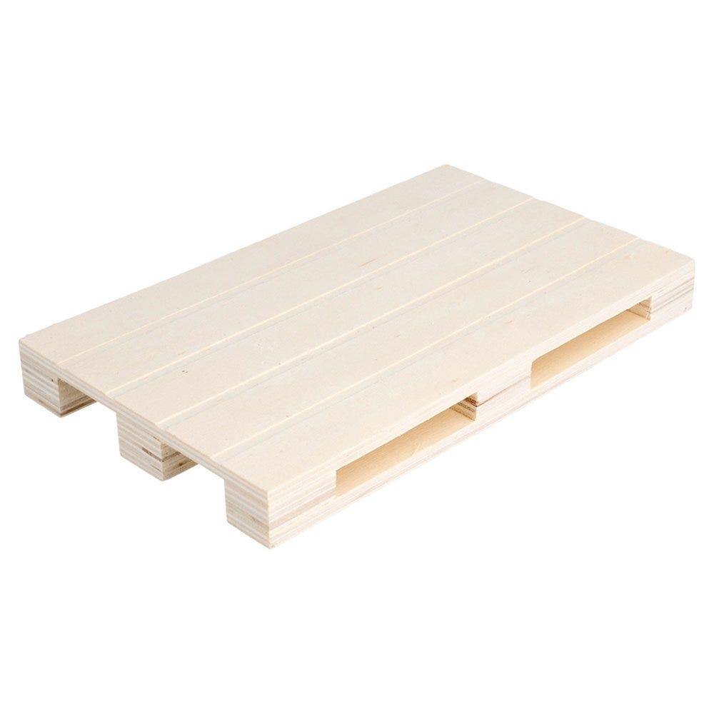 Mini palette bois 20x12x2cm - par 40