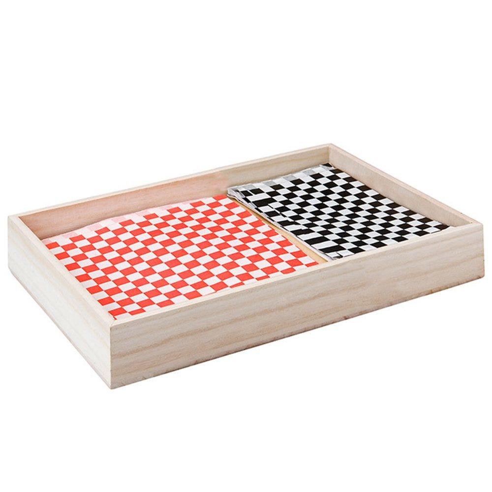 Casier de présentation en bois 37x30x10cm