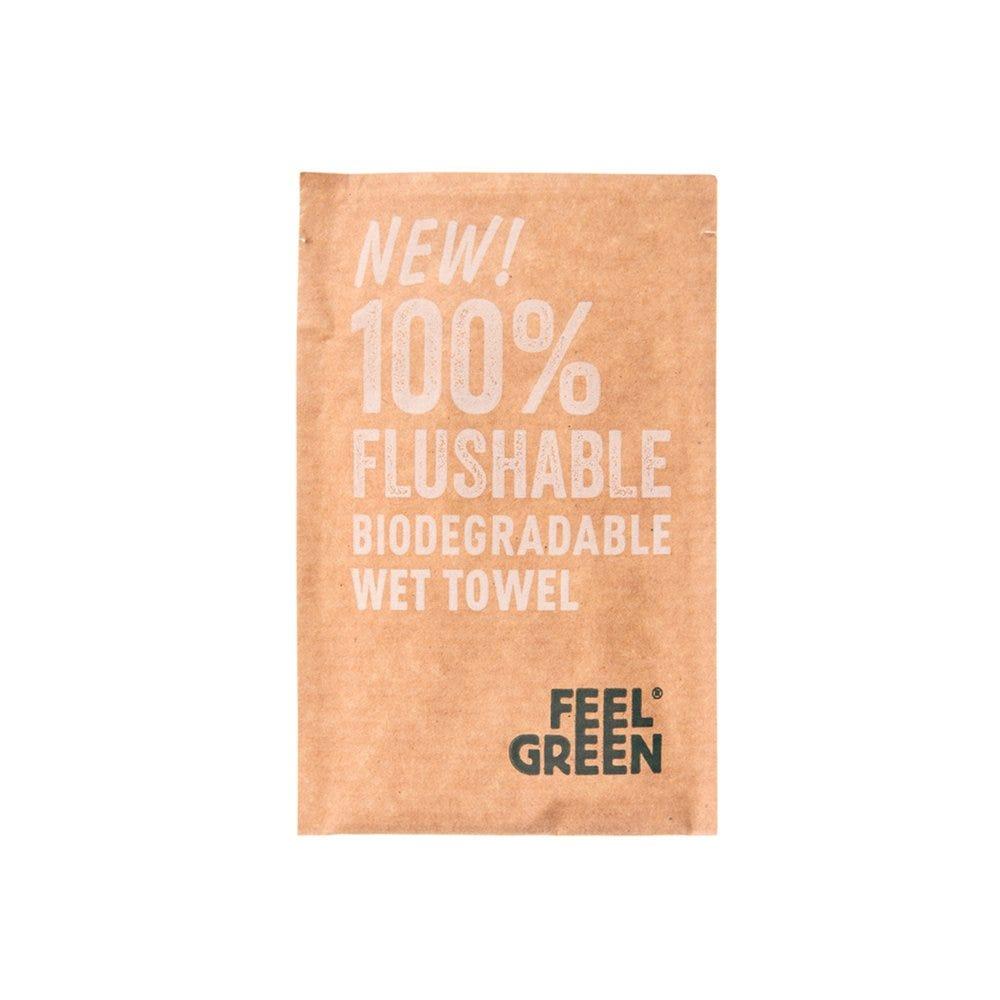 Rince-doigts jetables Feel Green 6,8x10cm - par 1200
