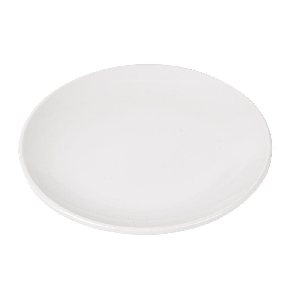 Assiette mélamine ivoire Ø15,3cm - par 12