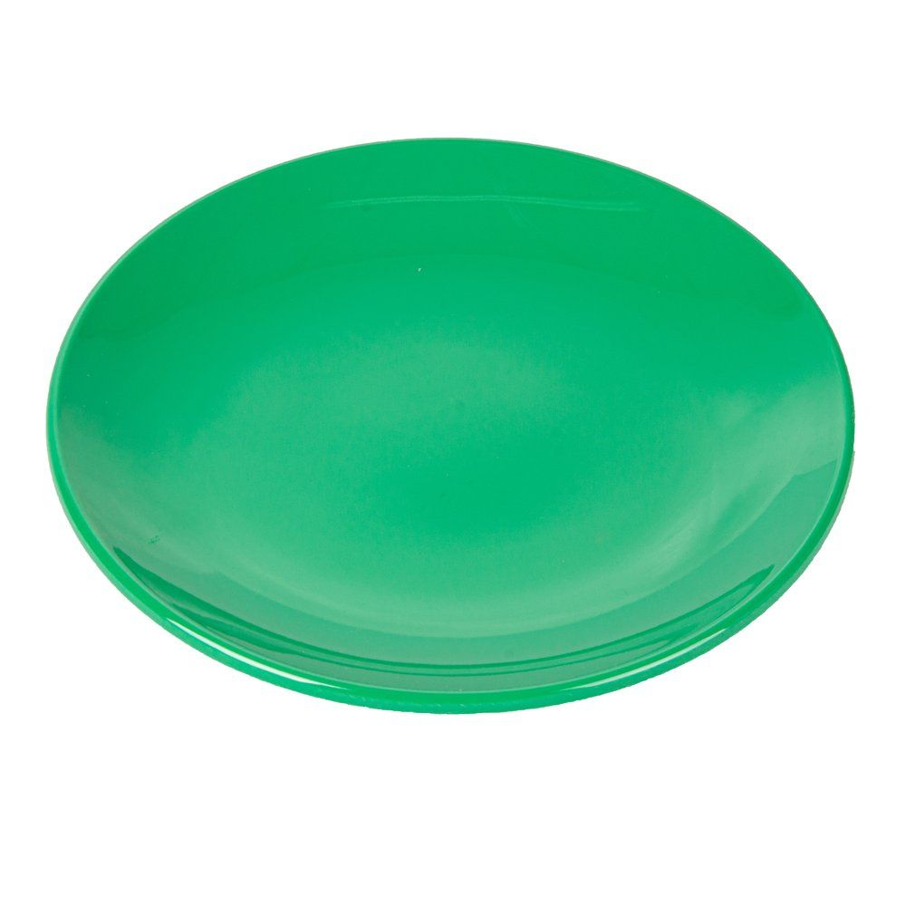 Assiette mélamine vert Ø23cm - par 12