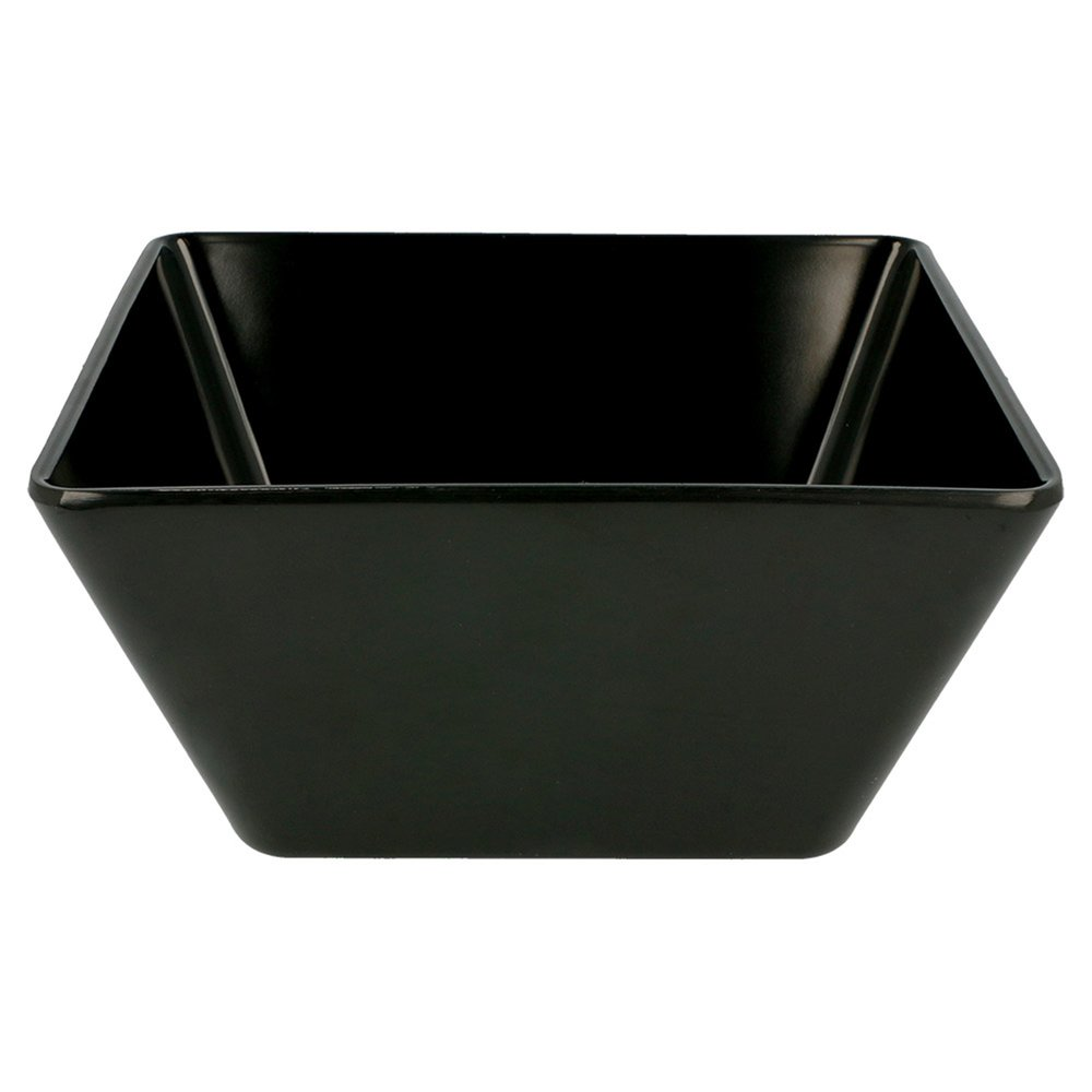 Saladier mélamine noir 170cl 18x18x8,5cm - par 6