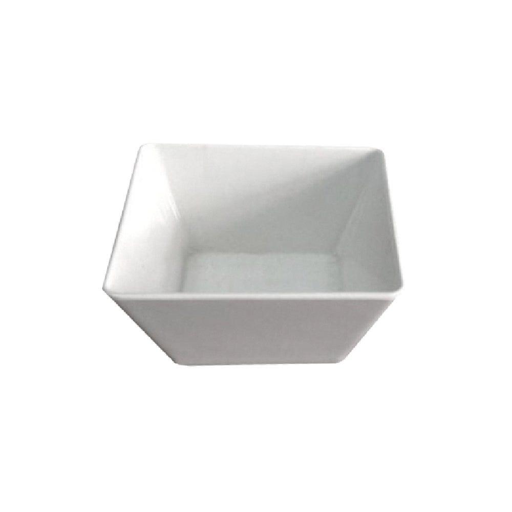 Saladier mélamine blanc 370cl 24x24x10cm - par 6