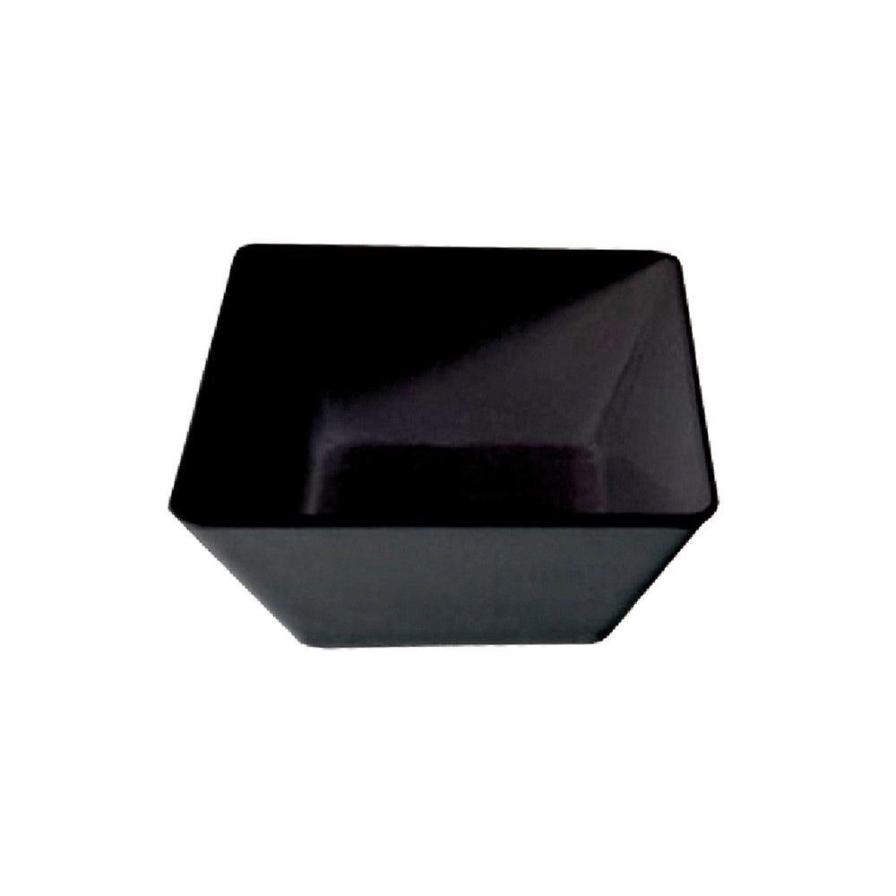Saladier mélamine noire 670cl 30x30x11,5cm - par 4