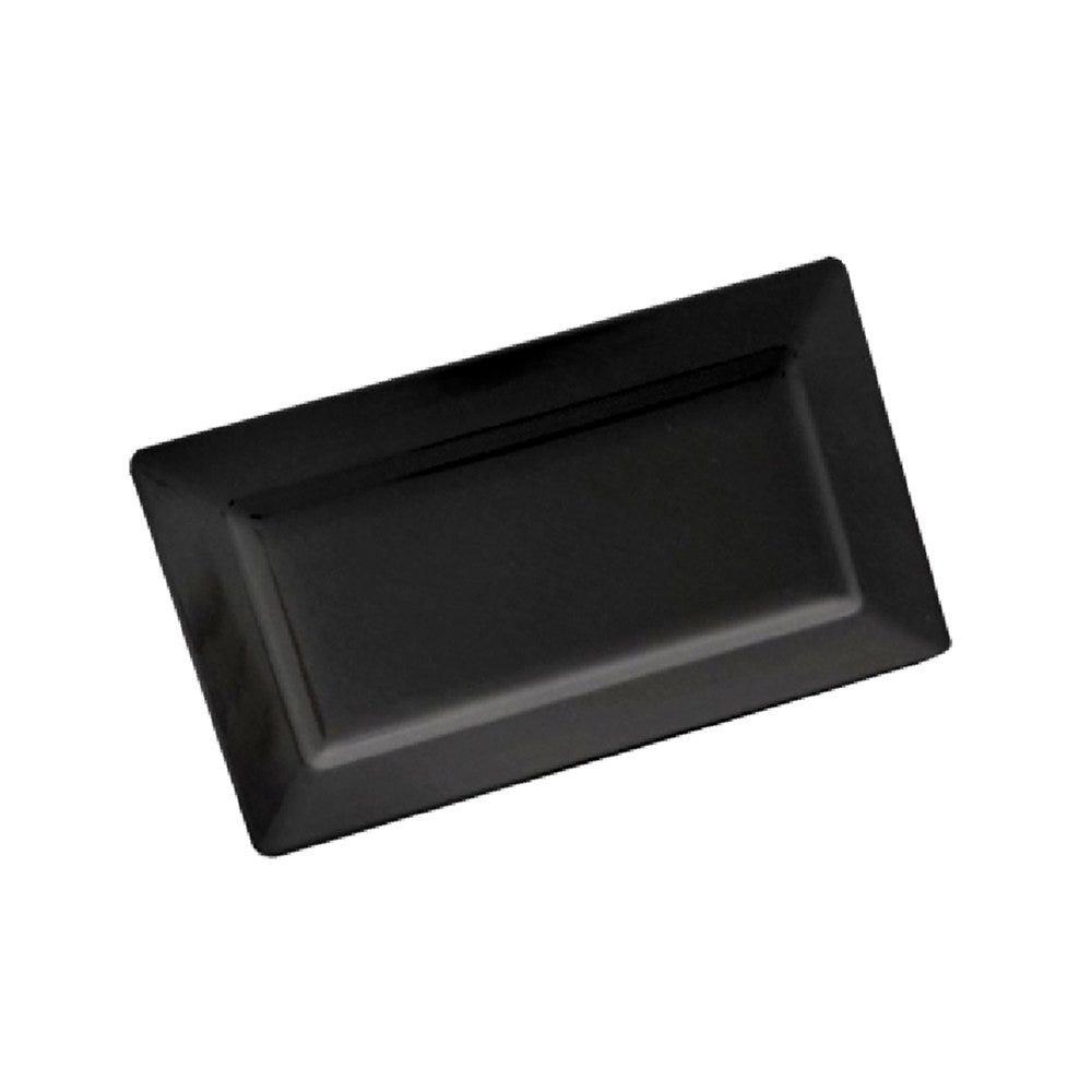 Plateau mélamine noir 44,5x22x4,5cm - par 6