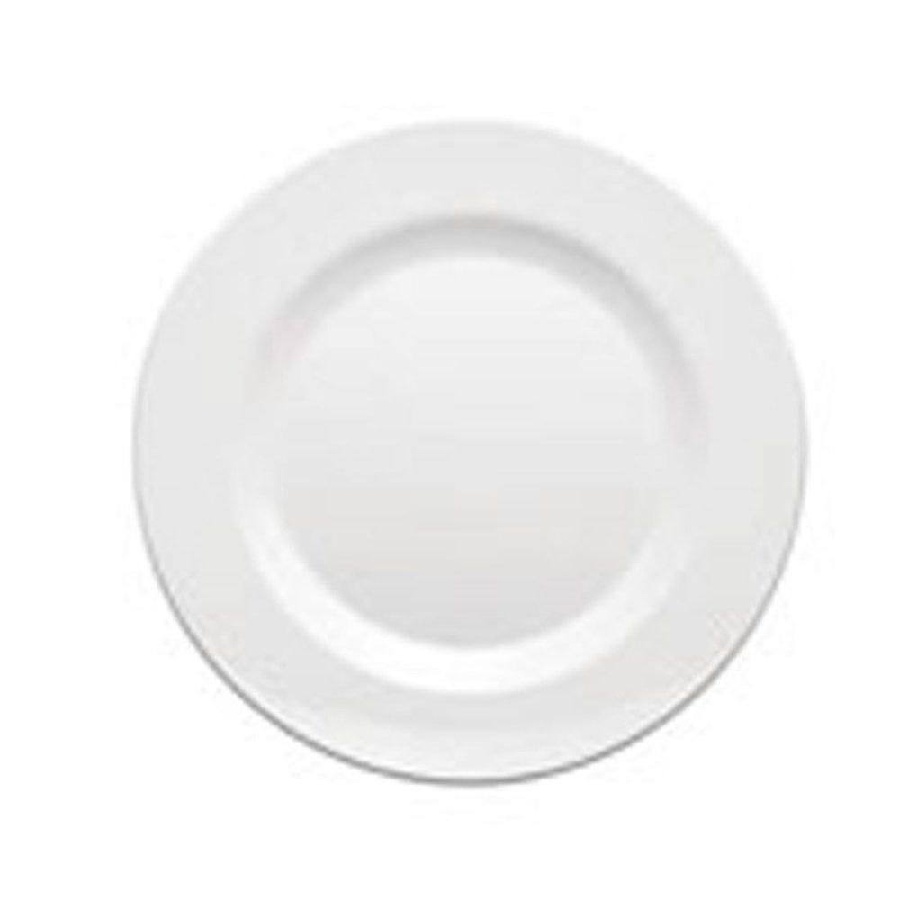 Assiette mélamine blanc Ø28cm - par 36