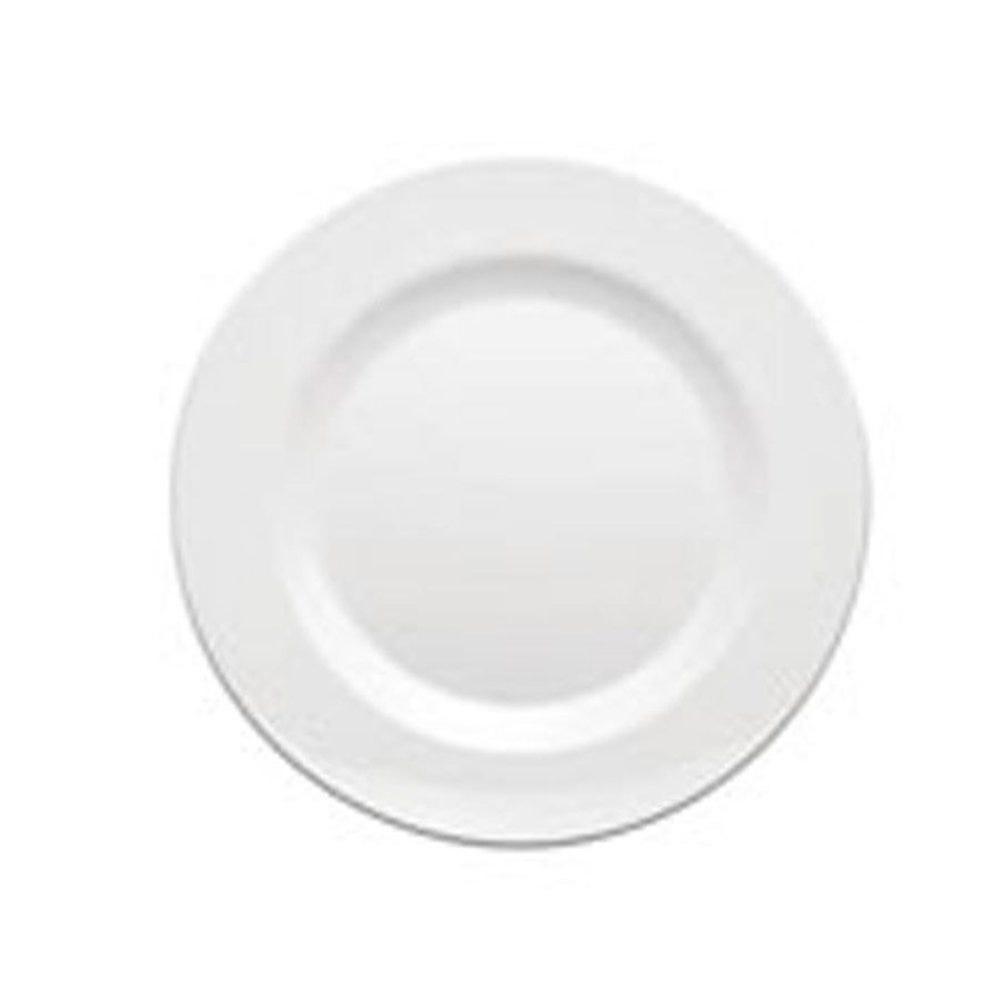 Assiette mélamine blanche Ø23cm - par 48