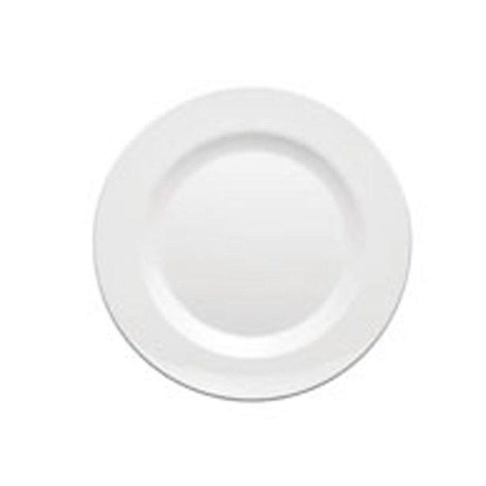 Assiette mélamine blanc Ø18cm - par 96