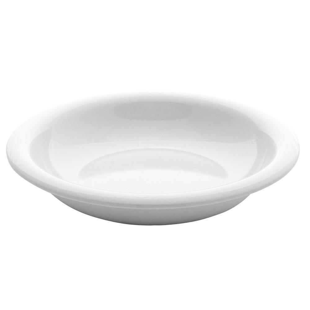 Assiette creuse mélamine blanc Ø25,4x5cm - par 24