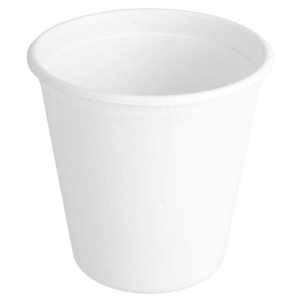 Gobelet en bagasse blanc 37cl - par 800
