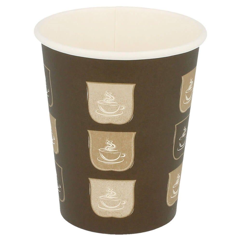 Gobelet boissons chaudes en carton imprimé 240 ml Ø8/5,6 x H 9,2 cm - par 50