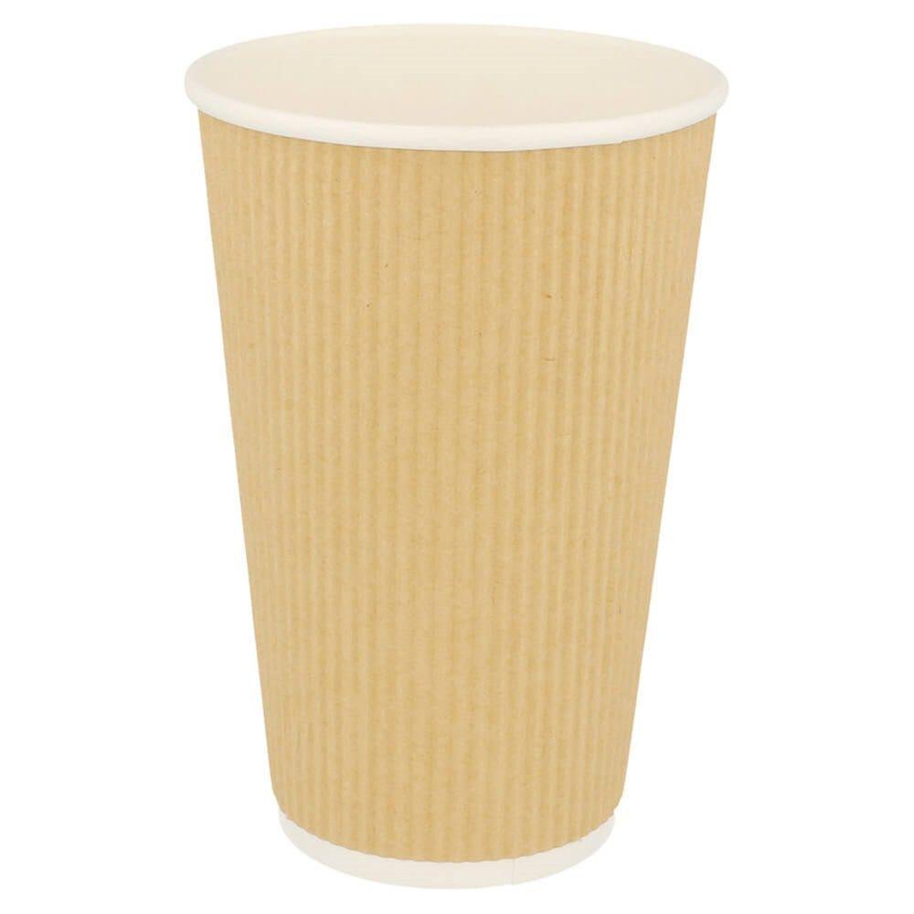 Gobelet boissons chaudes double paroi carton ondulé 48cl - par 500