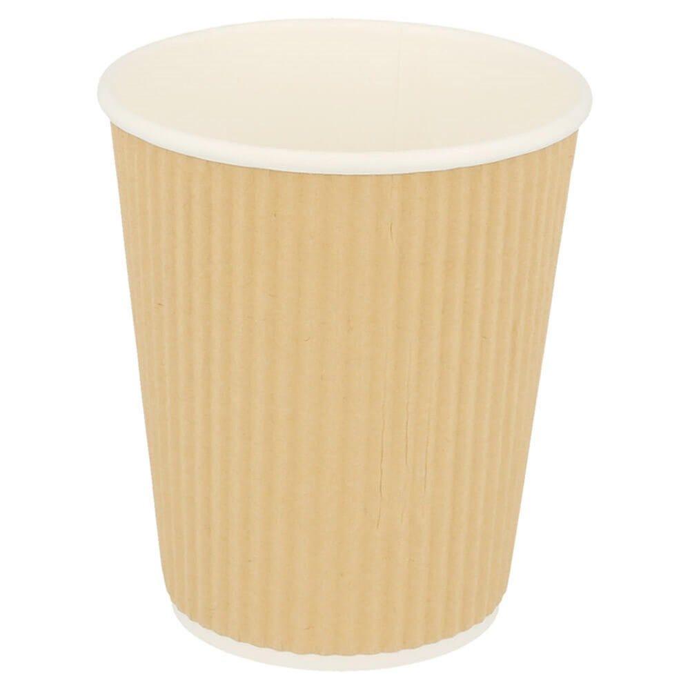 Gobelet boissons chaudes double paroi carton ondulé 24cl - par 1000